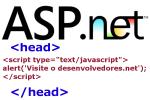 Adicionar javascript na tag head